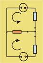 Primer enosmernega električnega vezja
